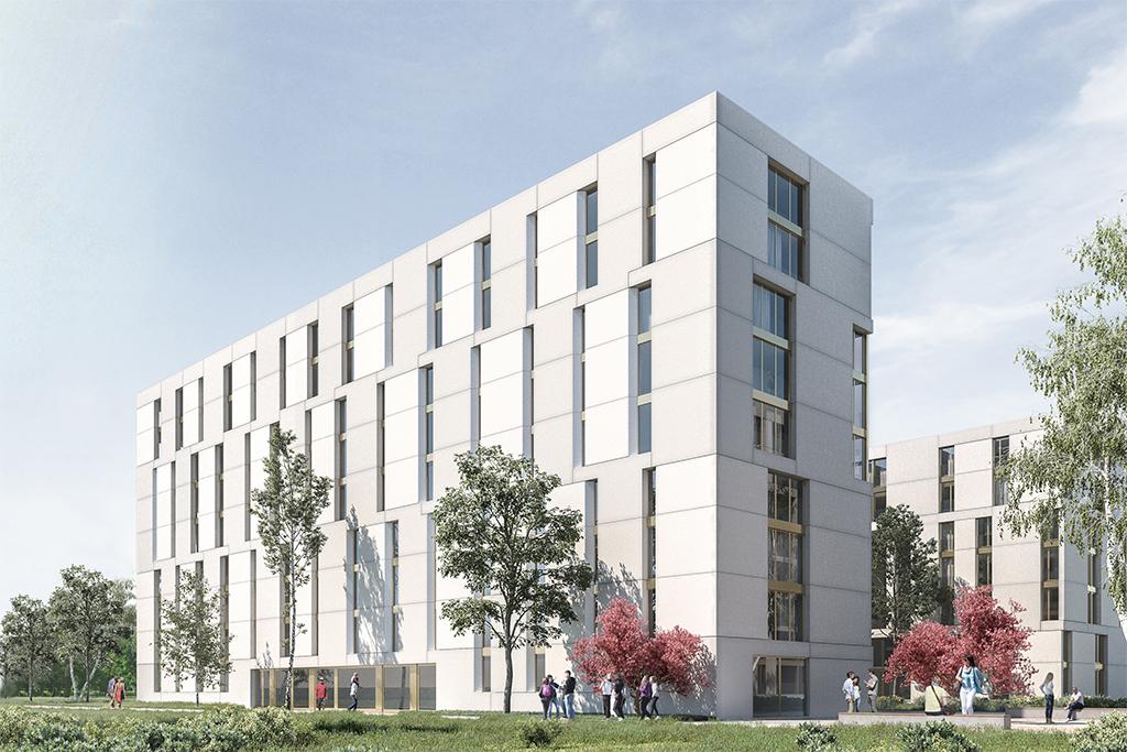 La coopérative Adret Pont-Rouge, bâtiment piloté par Asset Development.