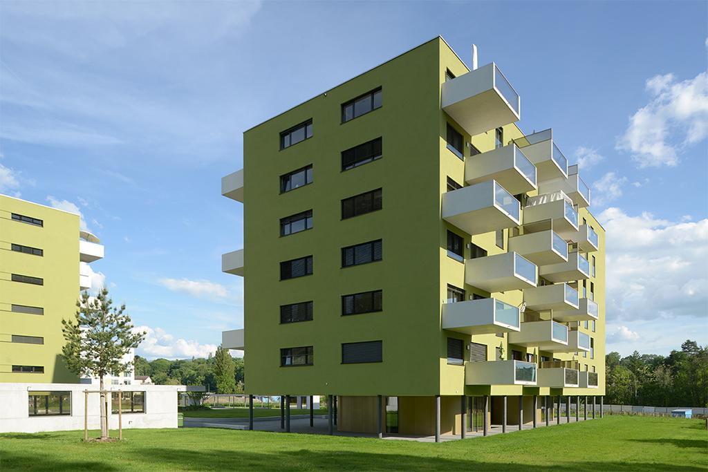 Les Plages de Dardagny, bâtiment piloté par Asset Development.
