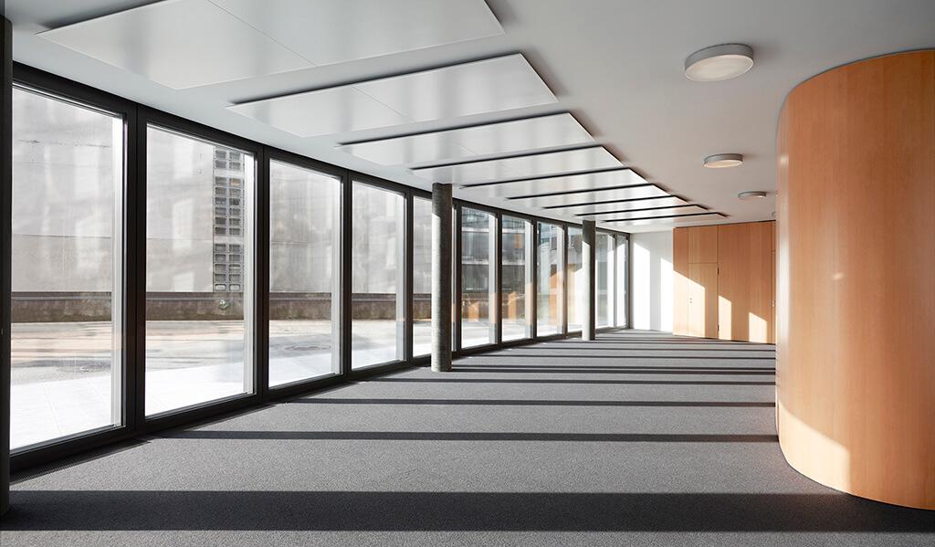 Le Saint-Georges Center, réalisation d'Asset Development, intérieur